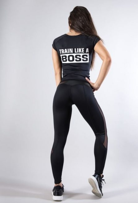 Футболка train like a boss