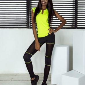 Спортивные леггинсы Sexy Shorts Lemon