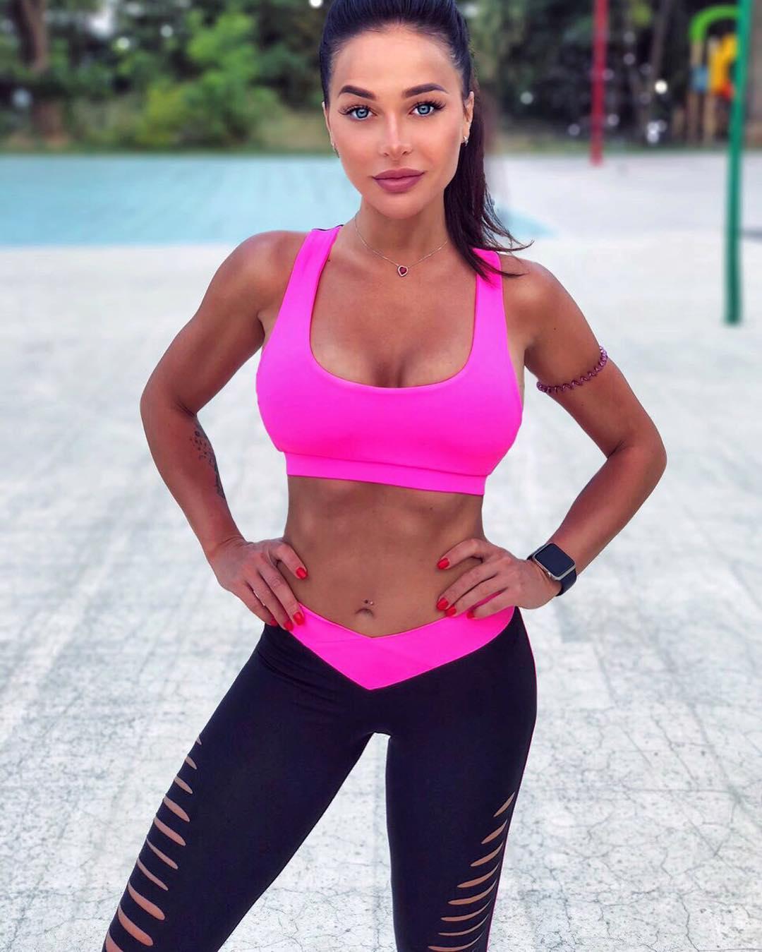 Спортивный топ Basic Pink